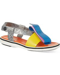 Nicholas Kirkwood Roksanda Colour Block Sandals - Lyst