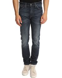 Levi's 508 Tapered Faded Fitted Jeans - Lyst