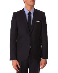The Kooples Navy Slim-Fit Suit Jacket - Lyst
