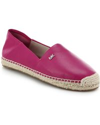 MICHAEL Michael Kors Leather Espadrilles - Lyst