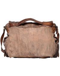Giorgio Brato - Reptile Effect Leather Messenger Bag - Lyst