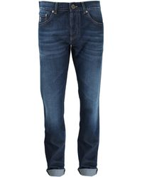 Brunello Cucinelli Basic Fit Denim Pant - Lyst