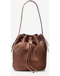Cole Haan | Bethany Weave Drawstring Hobo | Lyst