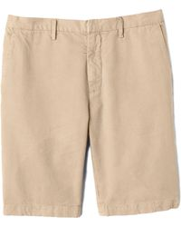 Vince Drift Twill Trousers Short - Lyst