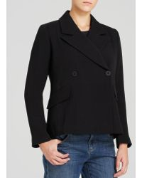 Eileen Fisher - Double Breasted Jacket - The Fisher Project - Lyst