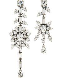 Dannijo White Ivory Earrings - Lyst