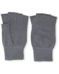 Ben Sherman Knit Fingerless Gloves - Lyst