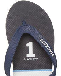 Hackett - Number 1 Flip Flops - Lyst