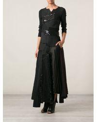 Junya Watanabe Patchwork Skirt - Lyst