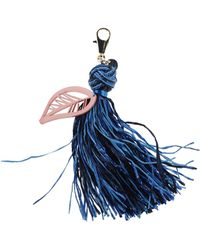Matthew Williamson Key Ring blue - Lyst