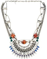 Dannijo Multicolor Yasmina Necklace - Lyst