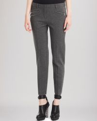 Kenneth Cole Alison Zip Pants - Lyst