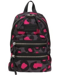 Marc By Marc Jacobs - Domo Arigato Printed Leopard Packrat Backpack - Multicolour - Lyst