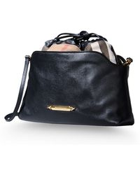 Burberry London Medium Leather Bag - Lyst