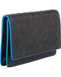 Bottega Veneta Intrecciato Folding Card Case - Lyst