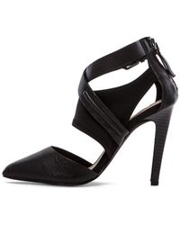 Joe's Jeans Black Alyson Heel - Lyst