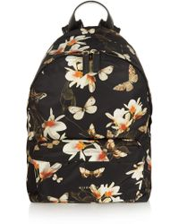 Givenchy Magnolia-print Nylon Backpack - Lyst