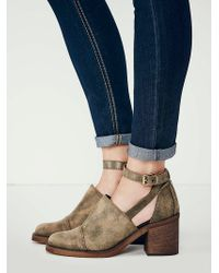 Free People Womens Cavalette Ankle Boot - Lyst