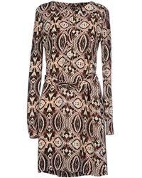 Antik Batik Short Dress beige - Lyst