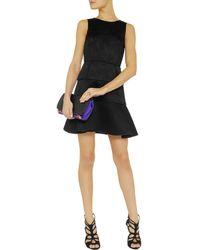 Tibi Giovanna Matelassã Satin Mini Dress - Lyst