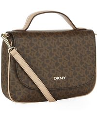 DKNY Logo Crossbody Tote Bag - Lyst