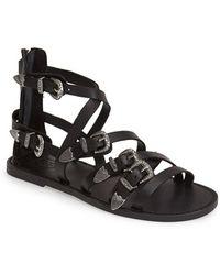 Ash Women'S 'Penelope' Leather Sandal - Lyst