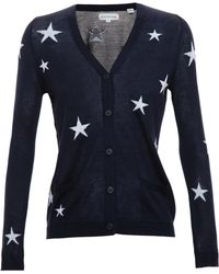 Chinti & Parker Cash Silk Star Cardigan - Lyst