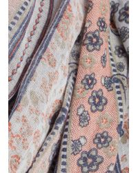Cilla Collection | Straight To Prints Scarf | Lyst