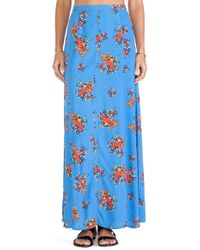 Mink Pink Believe It Maxi Skirt - Lyst