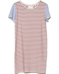 The Lady & The Sailor - Multi Stripe Shift Dress - Lyst