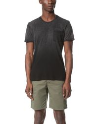 Splendid Mills - Slub Treatment Pocket Tee - Lyst