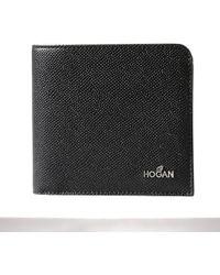 Hogan - Portafogli Pelle Con Portacarte - Lyst