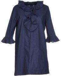 Antik Batik Blue Short Dress - Lyst