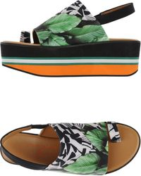 Clover Canyon - Toe Strap Sandal - Lyst