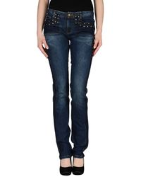 Roberto Cavalli Denim Pants - Lyst