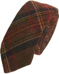 Black Fleece By Brooks Brothers - Multicolored Plaid Woven Tie - Lyst