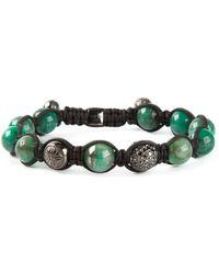 Shamballa Jewels - Black Diamond Bracelet - Lyst