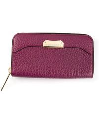 Burberry Zip Fastening Purse - Lyst