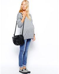 Asos Maternity V Neck Jumper - Lyst
