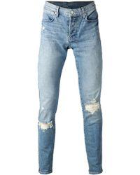 Ksubi Distressed Skinny Jeans - Lyst