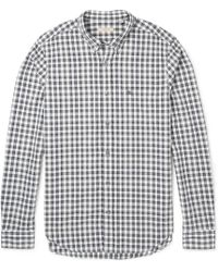 Burberry Brit Evans Gingham Cotton Shirt - Lyst