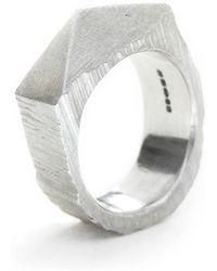 Fraser Hamilton - Pyramid Ring - Lyst