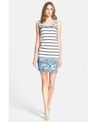 Emilio Pucci Women'S Nautical Print Stretch Cotton Dress - Lyst