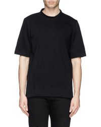 Song For The Mute Cross Seam Cotton Jersey T-Shirt - Lyst