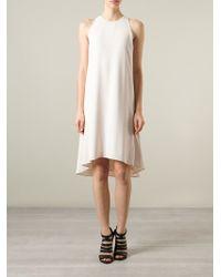 Chloé Asymmetric Dress - Lyst