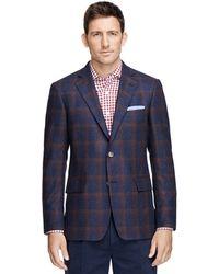 Brooks Brothers Regent Fit Window Pane Sport Coat - Lyst