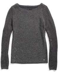 Tommy Hilfiger Sequin Knit Sweater - Lyst