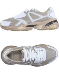 Alexander McQueen x Puma | Run Leather and Mesh Low-Top Sneakers | Lyst