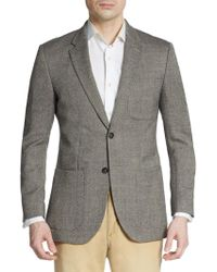 English Laundry Regular-Fit Tweed Wool-Blend Sportcoat - Lyst
