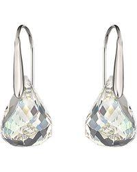 Swarovski Lunar Crystal Earrings - Lyst